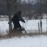 Nurse snaps photo of Bigfoot