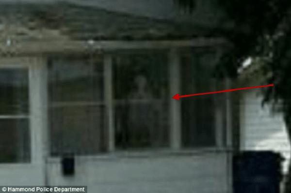 Demon in window
