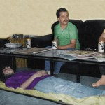 Dead wife kept inside glass coffee table