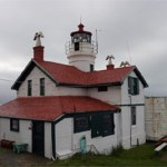 Haunted lighthouse in California