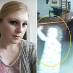 Mother snaps photo of ghostly girl