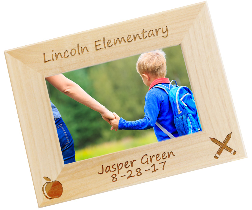 Personalized Picture Frame - Back To School