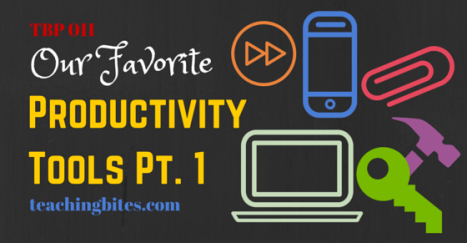 Our Favorite Productivity Tools