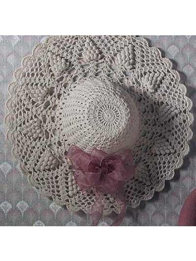 Crochet for the home crochet decor patterns pineapple suite hat