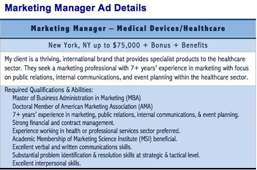 Interview Preparation - Matching Competencies to Role Responsibilities - public relations job description