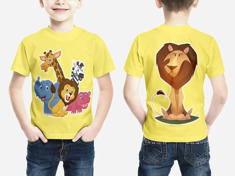Kids T-Shirt Mockups Free Mockup