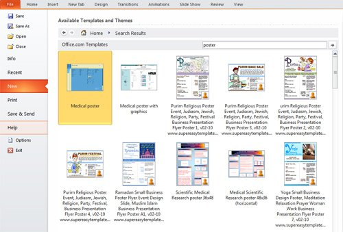 create poster in powerpoint - Acurlunamedia - how to do a poster in powerpoint