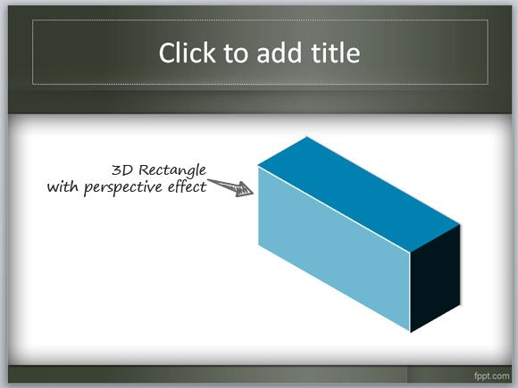 How to create a 3D Box in PowerPoint