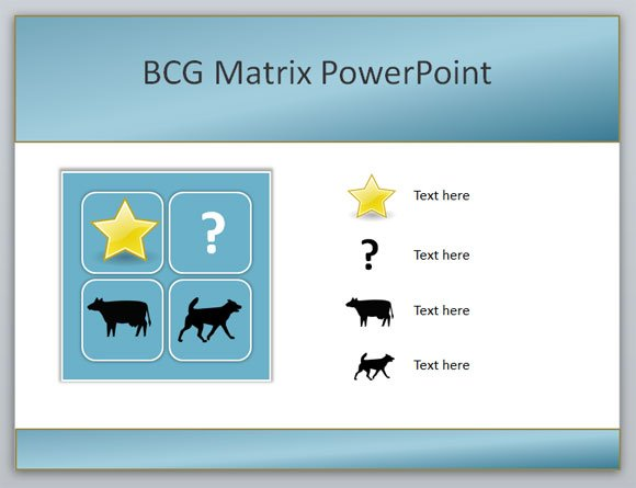 How to create a Boston Consulting Group BCG Matrix PowerPoint template - Consulting Presentation Templates