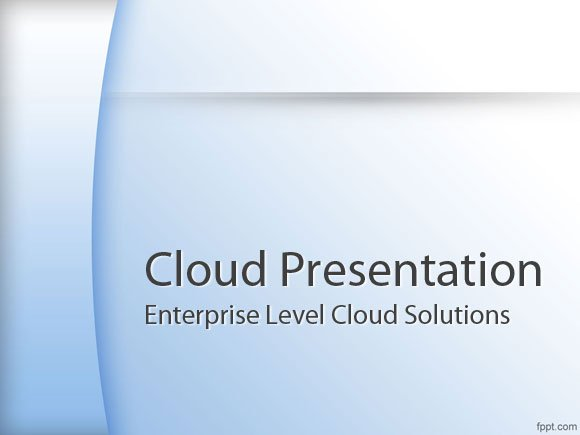 Best Cloud Computing PowerPoint Templates