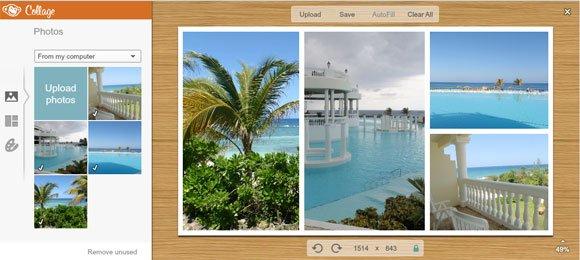 Make a Collage using PicMonkey
