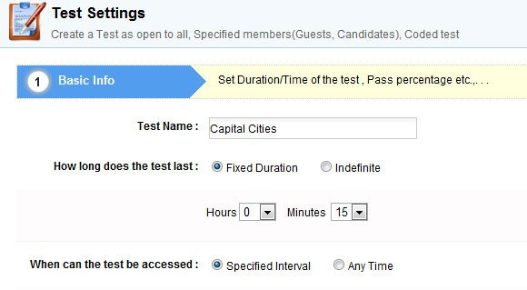 Zoho Challenge Conduit online tests for free - free test templates