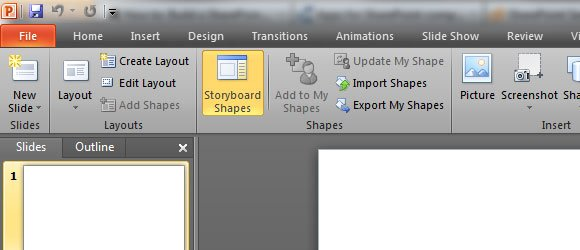 Storyboarding with Visual Studio 2012
