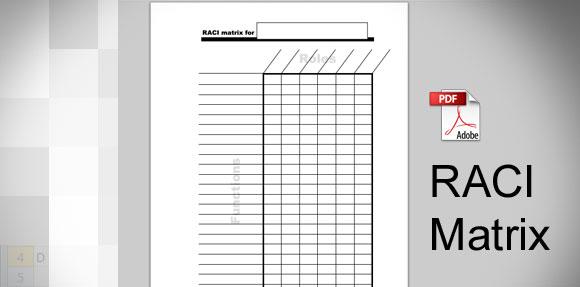 Download RACI Template in PDF - raci matrix template