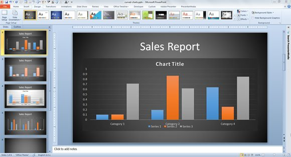 Innovative Business Graph Ideas in PowerPoint - graphs and charts templates