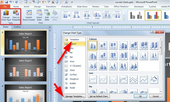 Modernize your PowerPoint 2010 Charts Using the New PowerPoint 2013 - powerpoint 2010 templates
