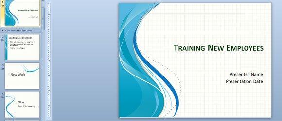 employee orientation presentation powerpoint templates
