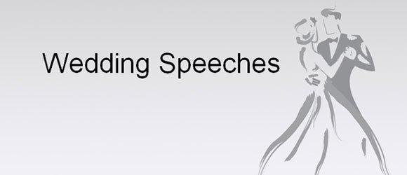 Funny Ways to Start a Wedding Speech - wedding speech example