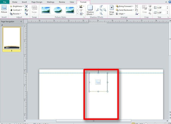 Creating a Letterhead in Publisher