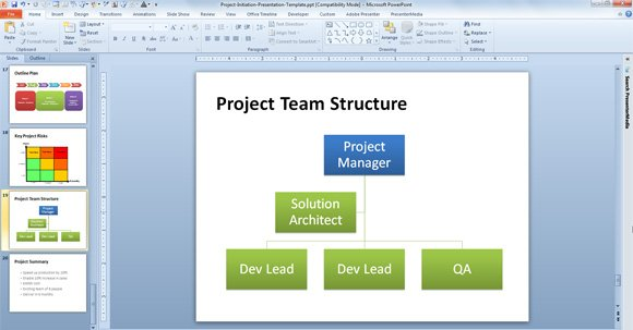 Free Agile Project Planning Template for PowerPoint