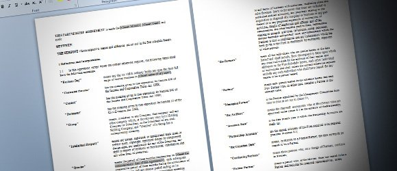 Free Partnership Agreement Template for Word