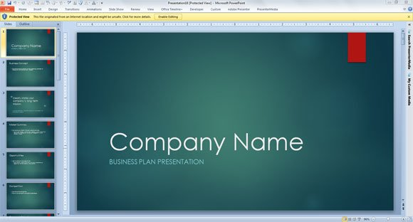 Business Consulting Template for PowerPoint 2013 - consulting presentation templates