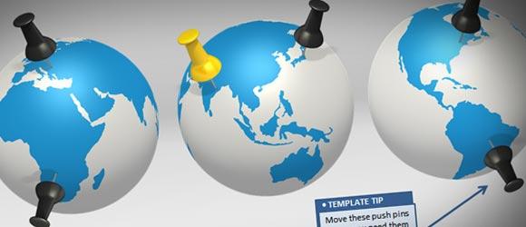 Make Awesome Global Presentations with Global PowerPoint Template - global powerpoint template