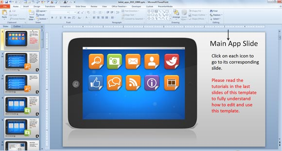 Using Interactive PowerPoint Presentations with Tablet Interactive