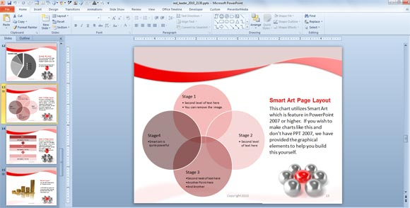 Animated PowerPoint 2007 Templates for Presentations - Presentations Template