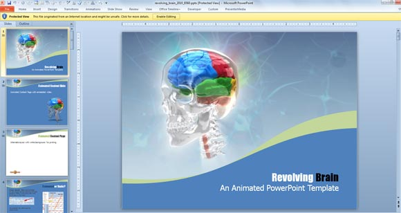 3D and Animated PowerPoint Templates for Mac