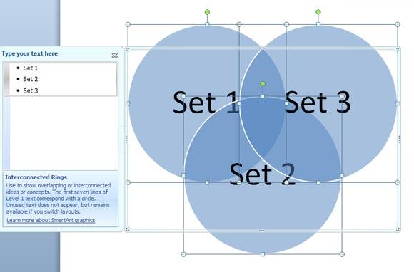 How to Create a Venn Diagram in PowerPoint 2010