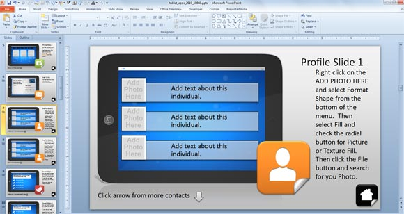 Using Interactive PowerPoint Presentations with Tablet Interactive - interactive powerpoint template
