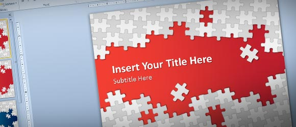 Download Free Puzzle Pieces PowerPoint Template for Presentations