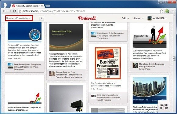 Using Pinterest To Find Free PowerPoint Templates And Inspirational
