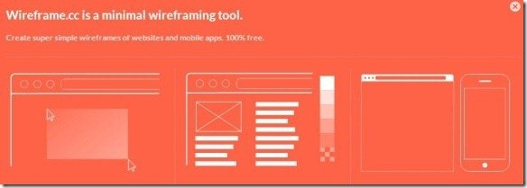 Wireframecc The Super Simple Way to Create Wireframes Online
