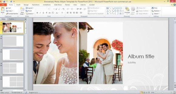 photo album powerpoint template - Akbagreenw