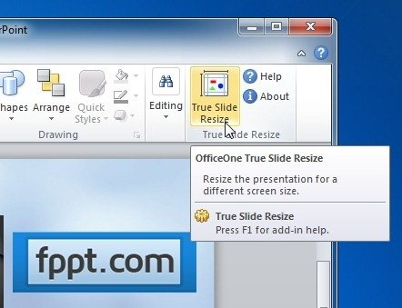 True Slide Change Size Of Your PowerPoint Slides To Match Screen Size