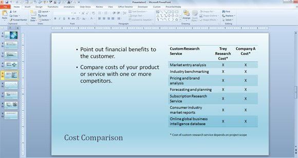 Free Business Sales Template for PowerPoint Presentations - sales presentation template