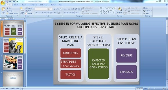 how to make a business proposal powerpoint presentation - Trisa