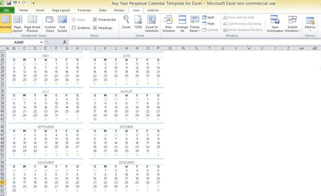 any-year-perpetual-calendar-template-for-excel-2 - FPPT