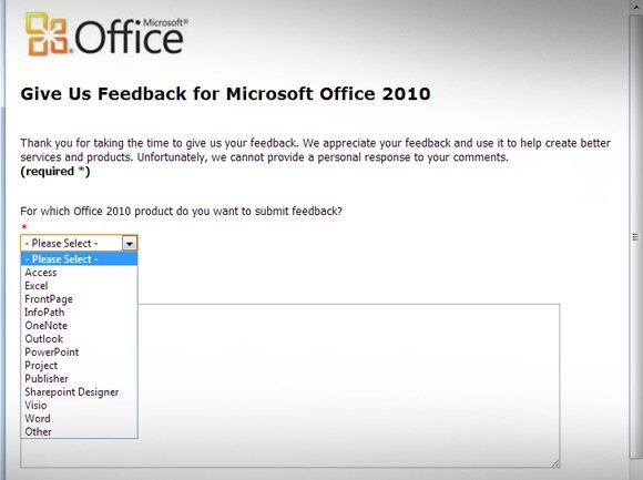 How to Send Microsoft Office  PowerPoint Feedback to Microsoft?