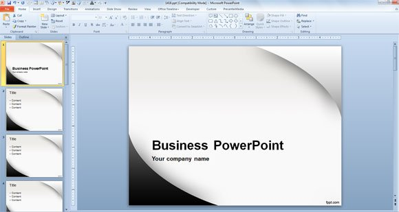 What is the recommended PowerPoint Template Size - plantillas para power points