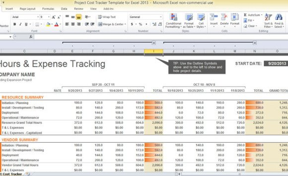 excel finances template - Romeolandinez - expense excel template