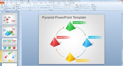 Free 3D Pyramid Template for PowerPoint Presentations