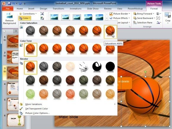 Animated Basketball PowerPoint Template - basketball powerpoint template