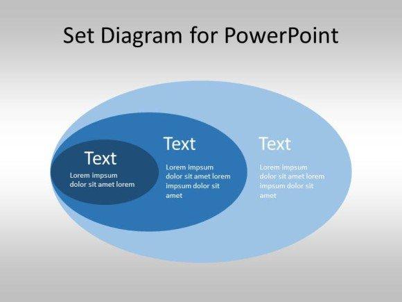 Free Set Diagram for PowerPoint (Venn Diagram Template)