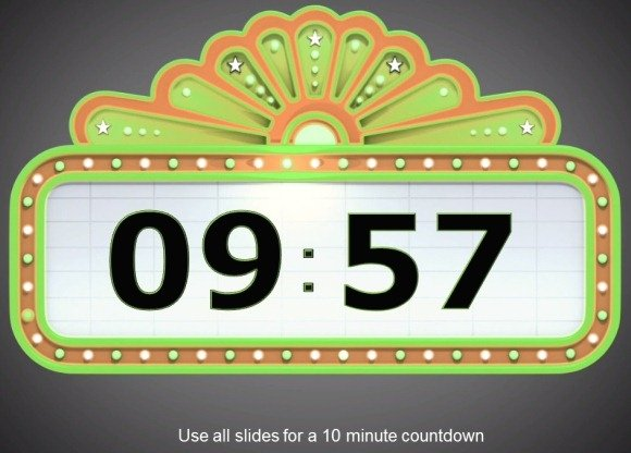 Awesome Countdown PowerPoint Templates
