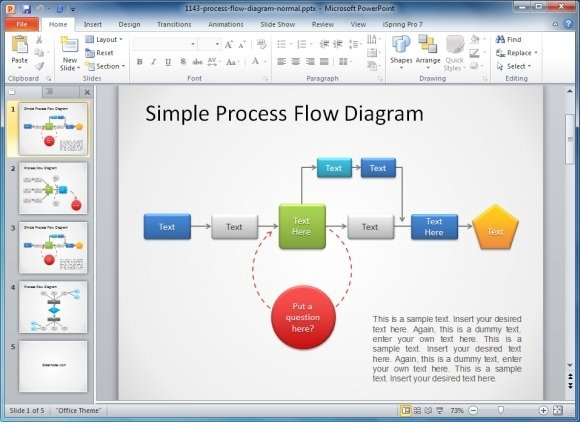 process flow diagram download