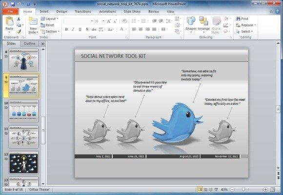 Twitter-Timeline-For-PowerPointjpg - FPPT