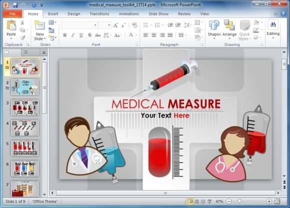 microsoft powerpoint templates medical